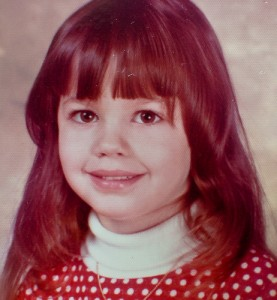 This is me in Kindergarten.