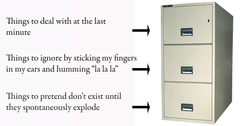 Three Drawers